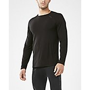 Mens 2XU HEAT Run Tee Long Sleeve Technical Tops