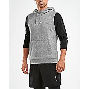 Mens 2XU URBAN Hooded Pullover Vests Jackets