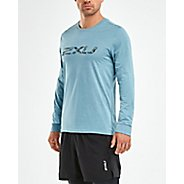 Mens 2XU URBAN Cuffed Long Sleeve Technical Tops