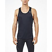 Mens 2XU XVENT Singlet Sleeveless & Tank Technical Tops