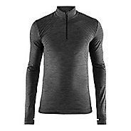 Mens Craft Fuseknit Comfort Zip Long Sleeve Technical Tops