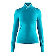 Womens Craft Fuseknit Comfort Wrap Long Sleeve Technical Tops