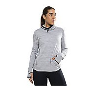 Womens Craft Grid Turtleneck Long Sleeve Technical Tops