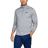 Mens Under Armour Fleece Half-Zips and Hoodies Technical Tops