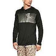 Mens Under Armour Lighter Longer Pull Over Half-Zips and Hoodies Technical Tops