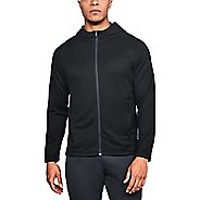 Mens Under Armour Mk1 Terry Full Zip Half-Zips and Hoodies Technical Tops