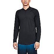 Mens Under Armour Mk1 Quarter Zip Graphic Half-Zips and Hoodies Technical Tops