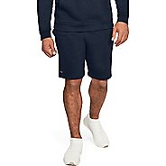 Mens Under Armour Rival Fleece Unlined Shorts