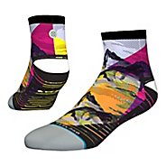 Mens Stance RUN Peaks Quarter Socks