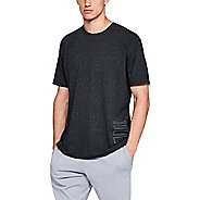 Mens Under Armour Speckle Print Short Sleeve Technical Tops