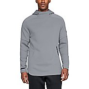 Mens Under Armour Unstoppable Move Pull Over Half-Zips and Hoodies Technical Tops