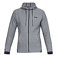 Mens Under Armour Unstoppable 2X Knit Full Zip Half-Zips and Hoodies Technical Tops