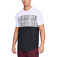 Mens Under Armour Unstoppable Coded Tee Short Sleeve Technical Tops