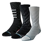 Mens Stance RUN Crew Socks 3 pack