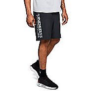 Mens Under Armour Woven Graphic Wordmark Lined Shorts