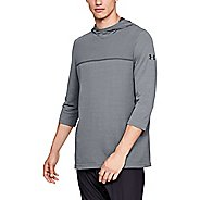 Mens Under Armour Vanish Seamless 3/4 Sleeve Half-Zips and Hoodies Technical Tops