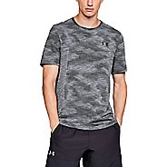 Mens Under Armour Vanish Seamless Camo Short Sleeve Technical Tops