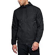 Mens Under Armour Sportstyle Woven Full Zip Half-Zips and Hoodies Technical Tops