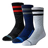 Mens StanceTRAINING Uncommon Crew Socks 3 pack - Multi L
