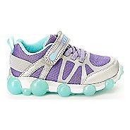 74de84c2222e86 Kids Stride Rite Leepz 3.0 Casual Shoe - Silver Purple 13.5C