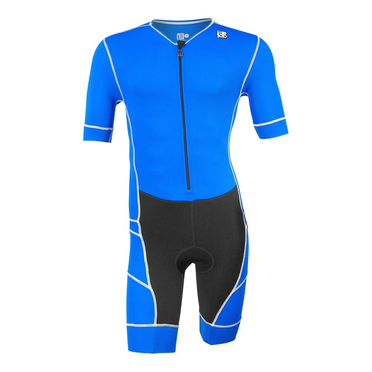 Subrayar Restaurar Radar  Mens De Soto Mobius Short Sleeve Trisuit Triathlon UniSuits at Road Runner  Sports