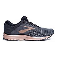 Womens Brooks Revel 2 Metallic Running Shoe - Black/Metallic 9.5