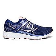 Womens Saucony Omni ISO Running Shoe - Navy/Blush 8