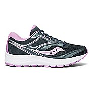 Womens Saucony Cohesion 12 Running Shoe - Slate/Violet 12