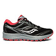 Womens Saucony Cohesion 12 TR Trail Running Shoe - Black/Teal 8