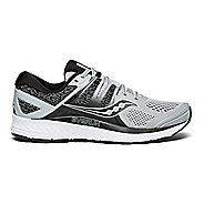 Mens Saucony Omni ISO Running Shoe - Grey/Black 10.5