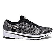 Mens Saucony Flame Casual Shoe - Black 9.5