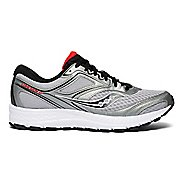 Mens Saucony Cohesion 12 Running Shoe - Silver/Red 10