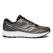 Mens Saucony Cohesion 12 Running Shoe - Silver/Red 13