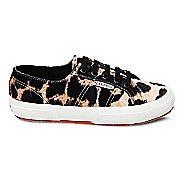 Womens Superga 2750 Fanvelw Leopard Casual Shoe