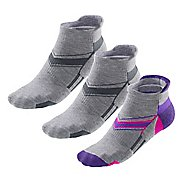 Womens R-Gear Super Plush Thin Cushion No Show Tab 3 pack Socks