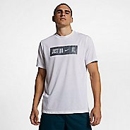 Mens Nike Dry Just Don't Quit Shirt Short Sleeve Technical Tops