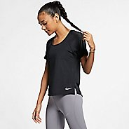 Womens Nike Miler Breathe Short Sleeve Technical Tops