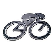 Elektroplate Cycling Chrome Emblem Fitness Equipment