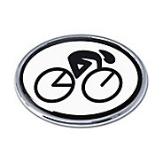 Elektroplate Cycling Oval Chrome Emblem Fitness Equipment