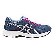 Womens ASICS GEL-Contend 5 Running Shoe - Black/Silver 11