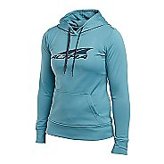Womens Altra Core Hoody Half-Zips & Hoodies Technical Tops