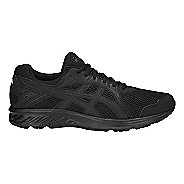 Mens ASICS Jolt 2 Running Shoe - Black/Dark Grey 13