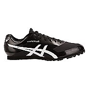 Mens ASICS Hyper LD 6 Track and Field Shoe - Black/White 7.5