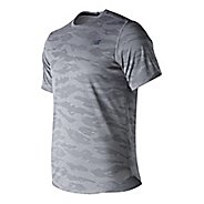 Mens New Balance Q Speed Breathe Short Sleeve Technical Tops