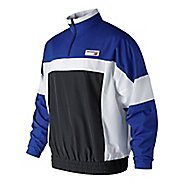 Mens New Balance NB Athletics Windbreaker Pullover Half-Zips & Hoodies Technical Tops