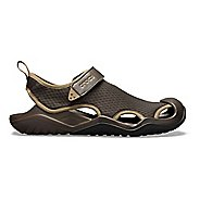 Mens Croc Swiftwater Mesh Deck Sandals Shoe