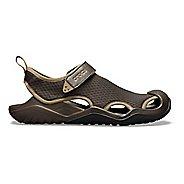 79158ca73aa8 Mens Croc Swiftwater Mesh Deck Sandals Shoe - Espresso 9