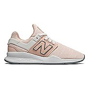 Womens New Balance 247v2 Metallic Casual Shoe - Oyster Pink 9.5