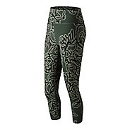 Womens New Balance Printed Highrise Transform Crop 2.0 Pants