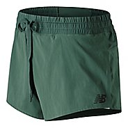 Womens New Balance Q Speed Track Lined Shorts